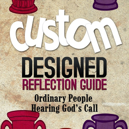 "Creative & Inspiring Book Cover for ""Custom Designed Reflection Guide"""