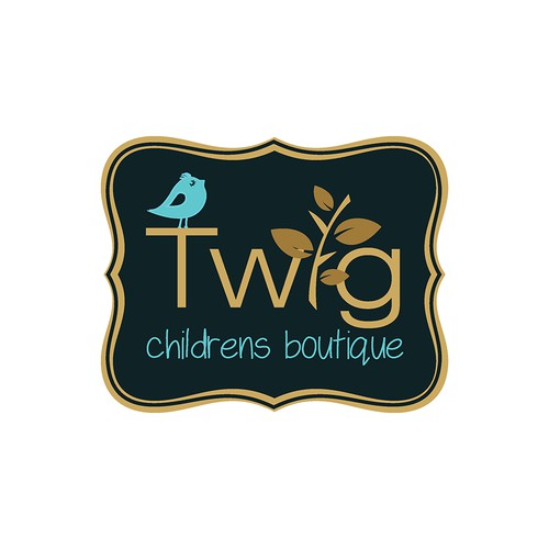 Help Twig Childrens Boutique with a new logo