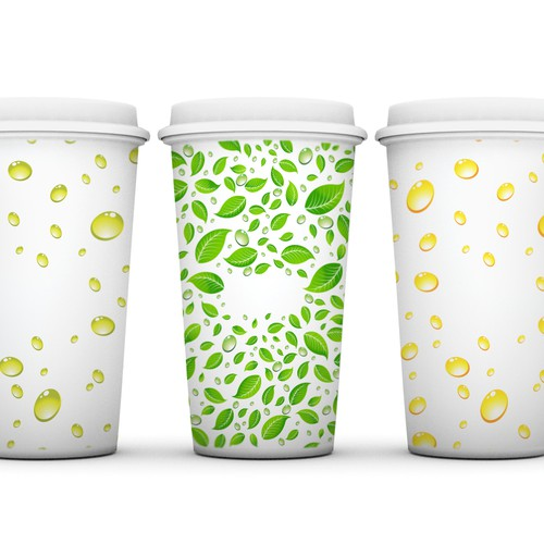Cold drink cup for warm days