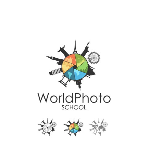 Help World Photo School with a new logo