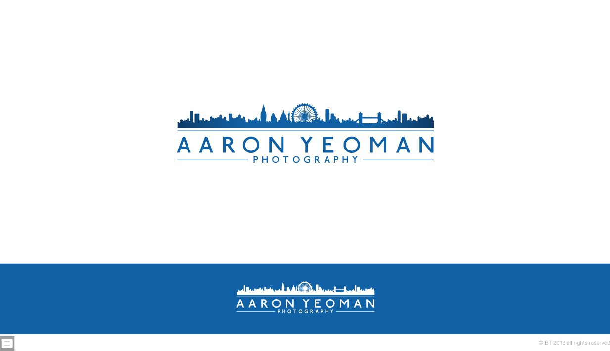 Aaron Yeoman Photography needs a new logo for his new website and images