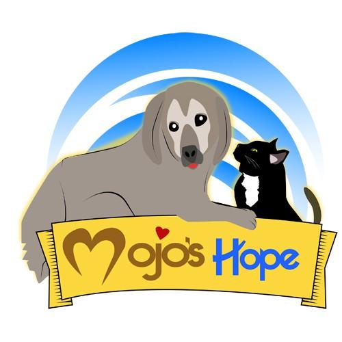 logo for Mojo's Hope