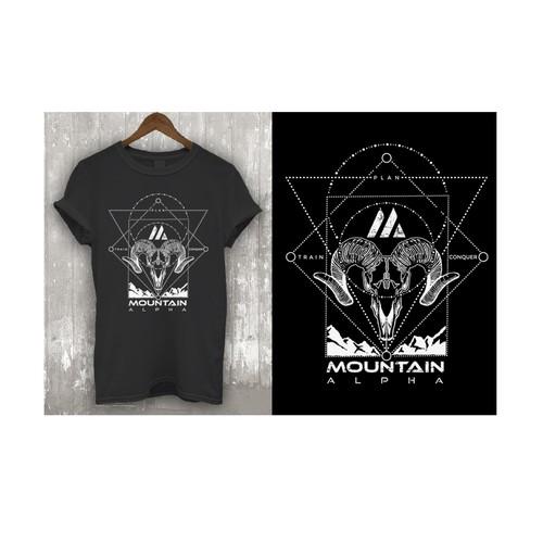 Design a Badass Limited Edition T-Shirt for Mountain Alpha