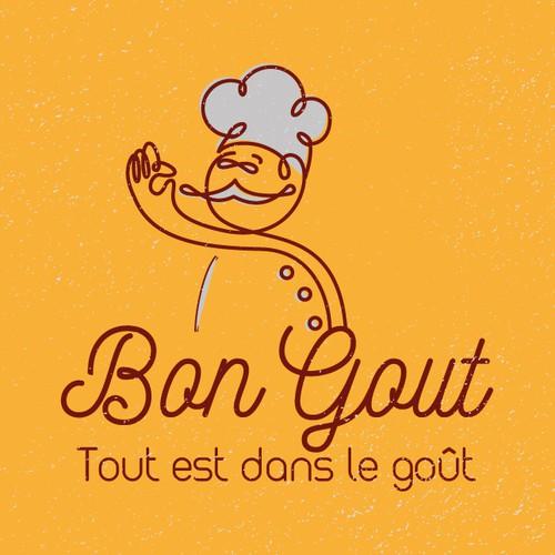 Bon Goût logo concept