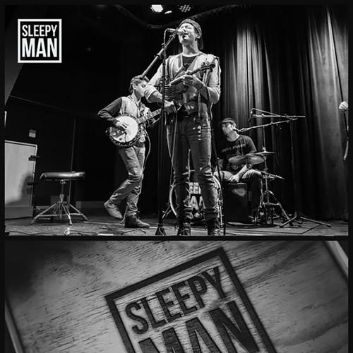 Logo for a Sleepy Man band