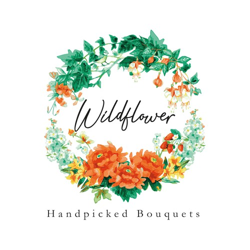 Detailed logo for Wildflower