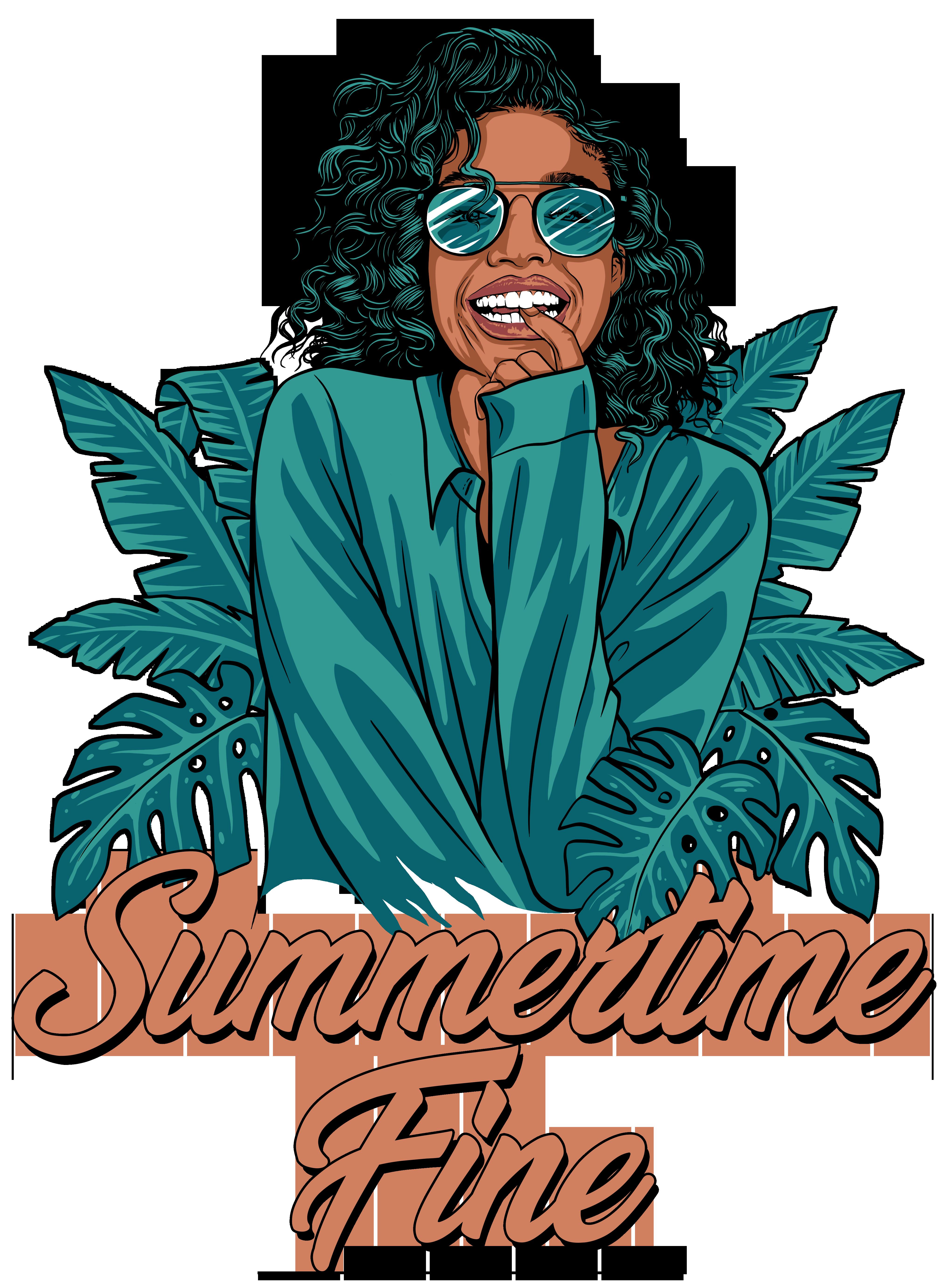 T-shirt for Women - Summer Vibe