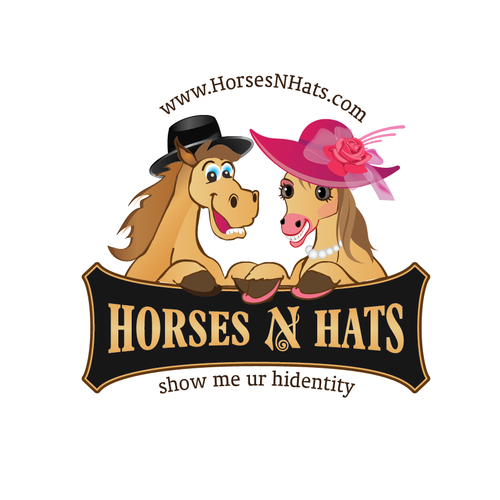 Create a fun logo for one of the largest parties for Horses N Hats!!!!!