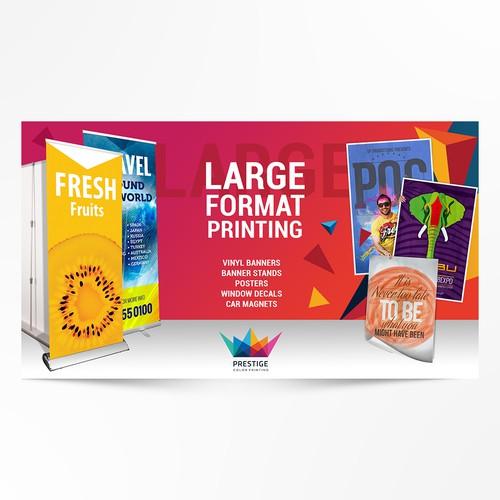 Prestige Color Printing banner ad