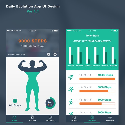 Step Tracker App