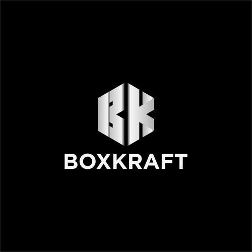 Unique logo BK letter