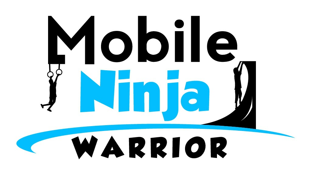 Create an American Ninja Warrior themed logo!
