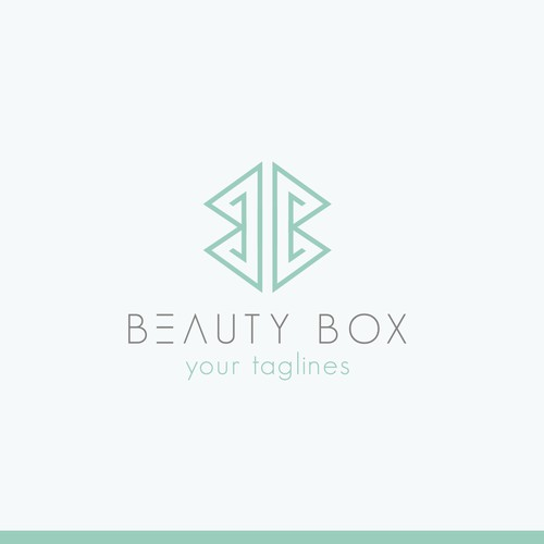 Create an eyecatching logo for mobile beauty company!