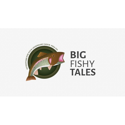 The stuff of Legend... seeking an amazing Big Fishy Tales logo!