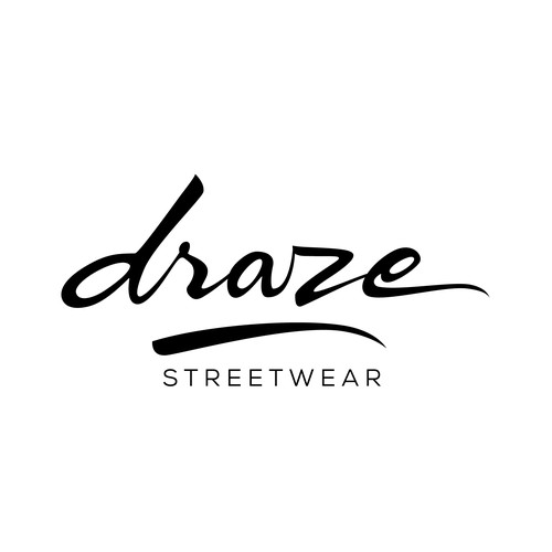 Lettering logo for a streetwear brand