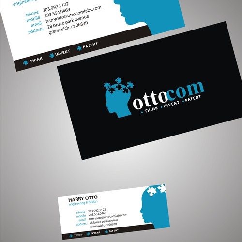 business card for OTTOCOM