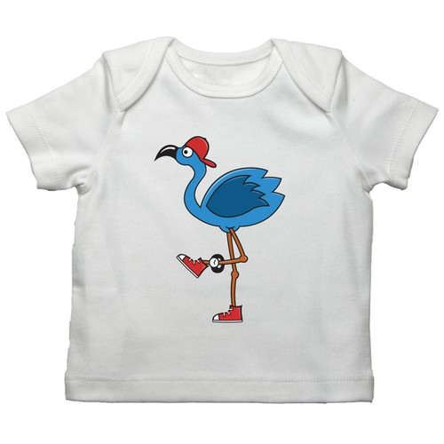 Fun and trendy clothing designs for a cool baby and childrens webshop!