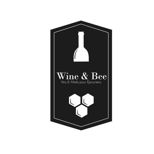 Logo vins & miel
