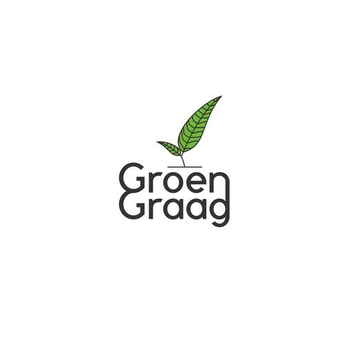 Logo voor aanmoediging duurzaam leven! (Logo for encouraging sustainable living!)