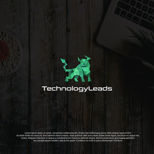 logo concept for technologyleads