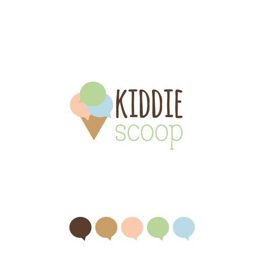 Logo design for Kiddie Scoop