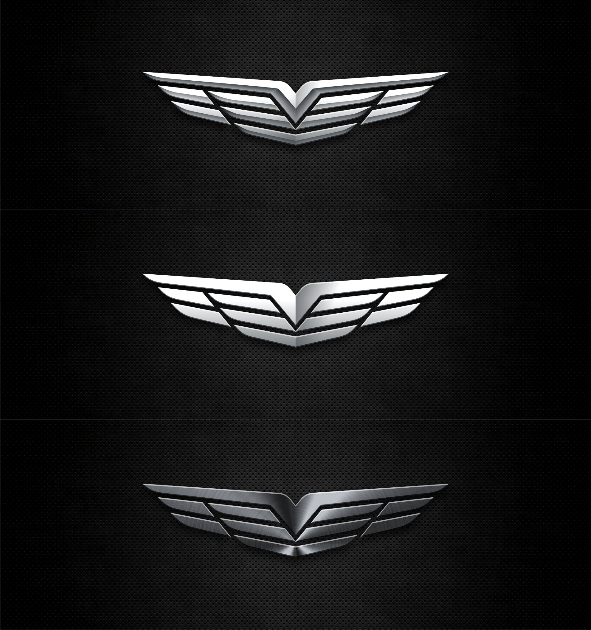 Logo Design with same AirPleasure Wings but other symbolises