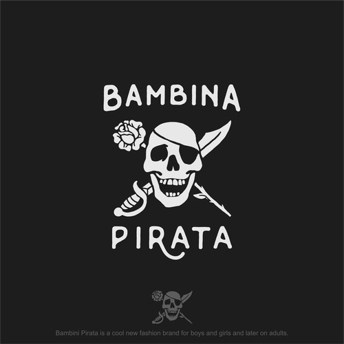 Logo for Bambina Pirata