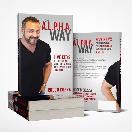 Book Cover Concept for Rocco Cozza 'sThe A.L.P.H.A. Way