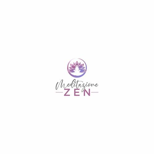 Logo design for meditation blogs in Italy www.meditazionezen.it