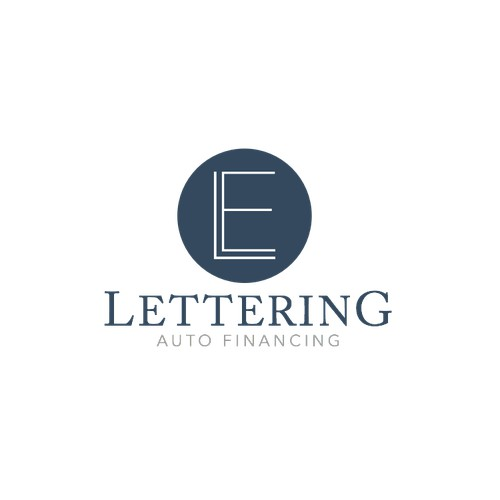 Logo Design for Lettering Auto Financing