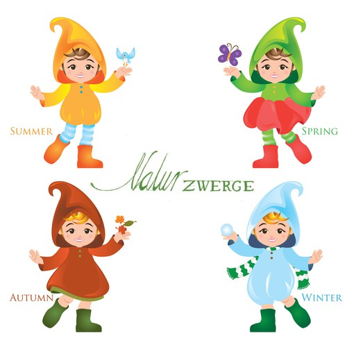 Mascot Design for Naturzwerge