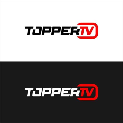 TOPPER TV LOGO DESIGN