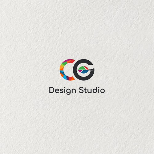 Colourful logo for CG design studio