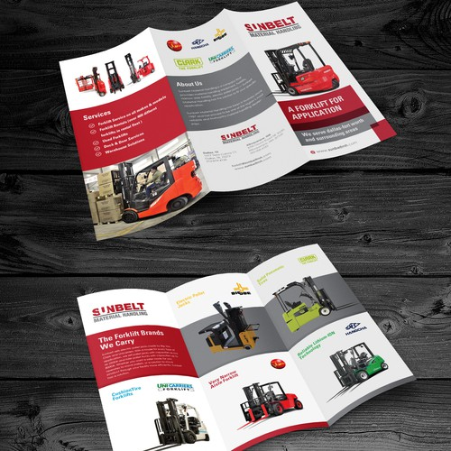 We Need A Powerful Brochure For A Forklift Dealership