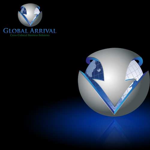 Global Arrival 3D logo