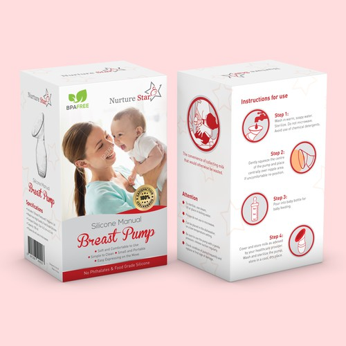 Silicone Breast Pump