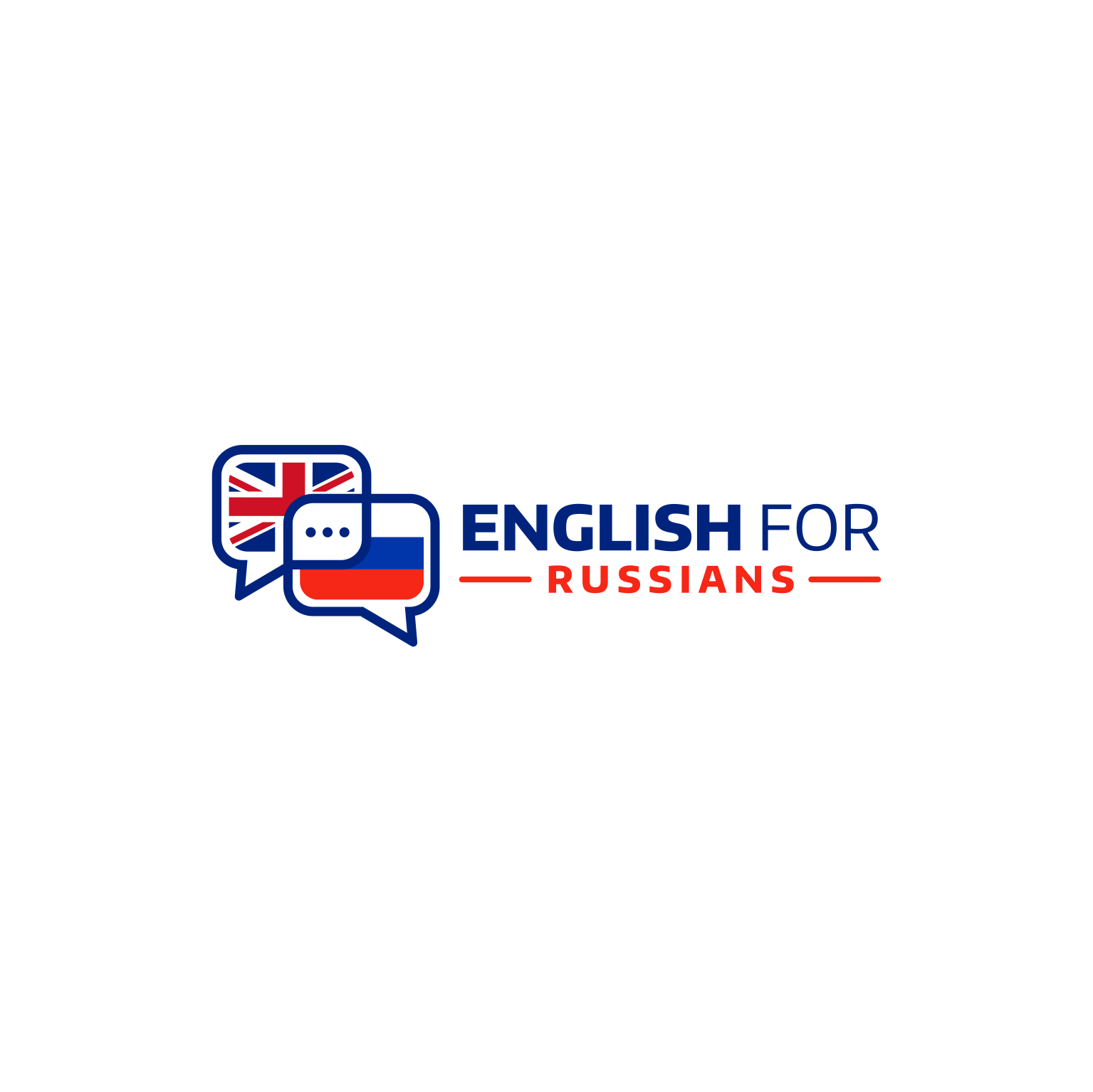 Logo for an English School in Russia