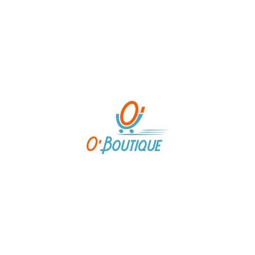 "Logo design for brand store that's called "" O'Boutique """