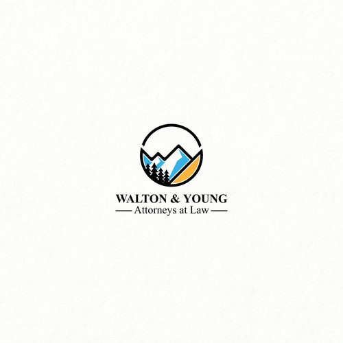 Bold Logo Concept for Walton & Young