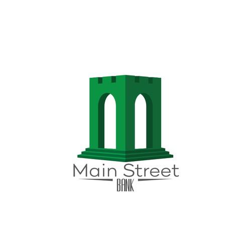 Concept design for Main Street Bank