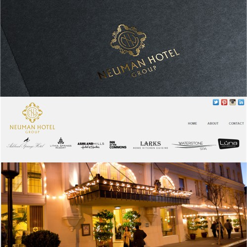 Neuman Hotel Group - Local Taste. Stylish Comfort. LOGO!!