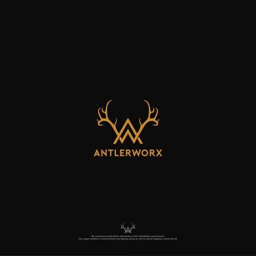 AntlerWorx Lighting Company Needs Clean, Sophisticated Logo