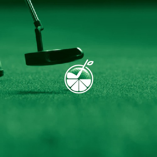 Simple and clean logo for one of Florida's top golf clubs