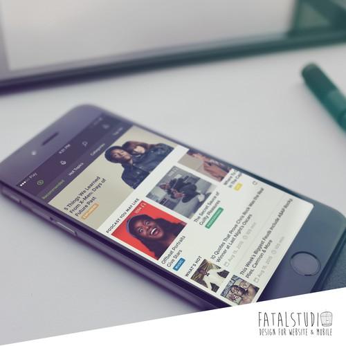 Innovative Podcast Mobile App