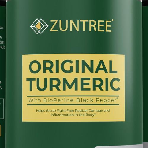ZUNTREE ORIGINAL TURMERIC