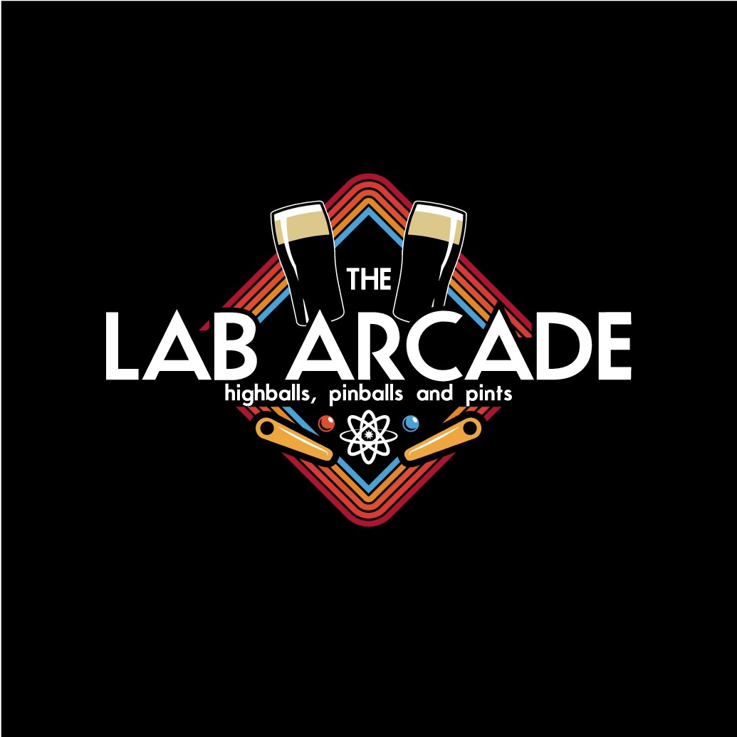 Sophisticated, Fun logo for a Bar, Retro Arcade