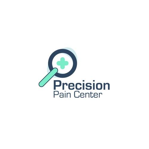 Precision Pain logo design