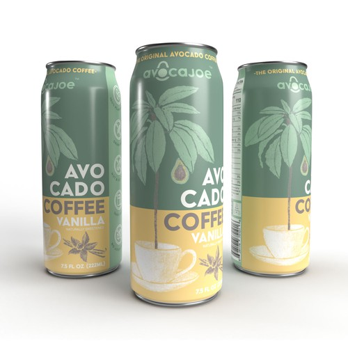 Avocado Coffee Can Design