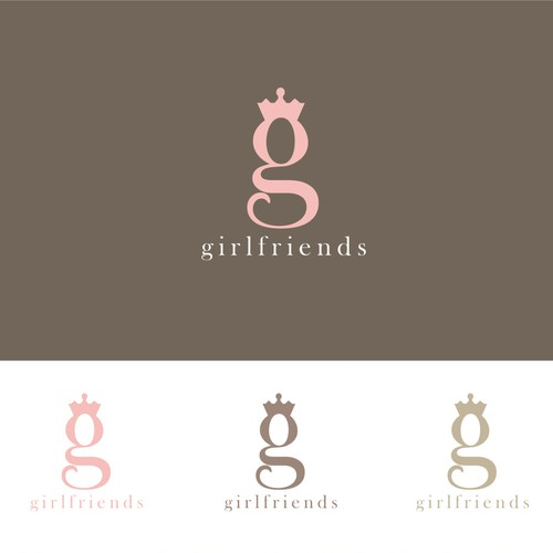 New logo wanted for Girlfriends (could be presented as two separate words - GIrl Friends)