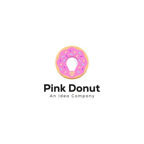 Logo Pink Donut